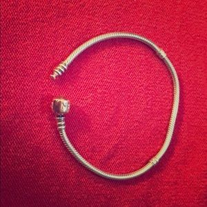 Pandora Two Tone 8.3 Snake bracelet